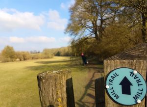 Mill Trail Walk Whitchurch North Hampshire