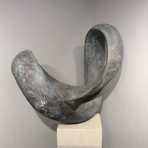 Bronze Ravel sculpture Richard Fox
