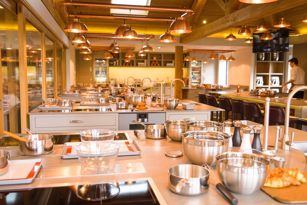 Chewton Glen - The Kitchen Cookery School