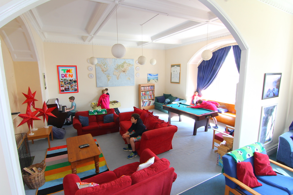 School common room.