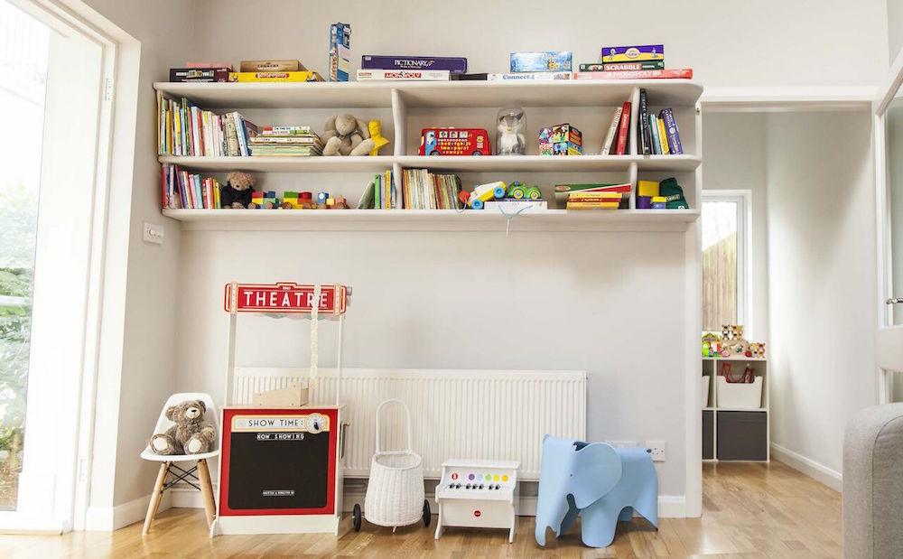 Lovely vintage playroom.