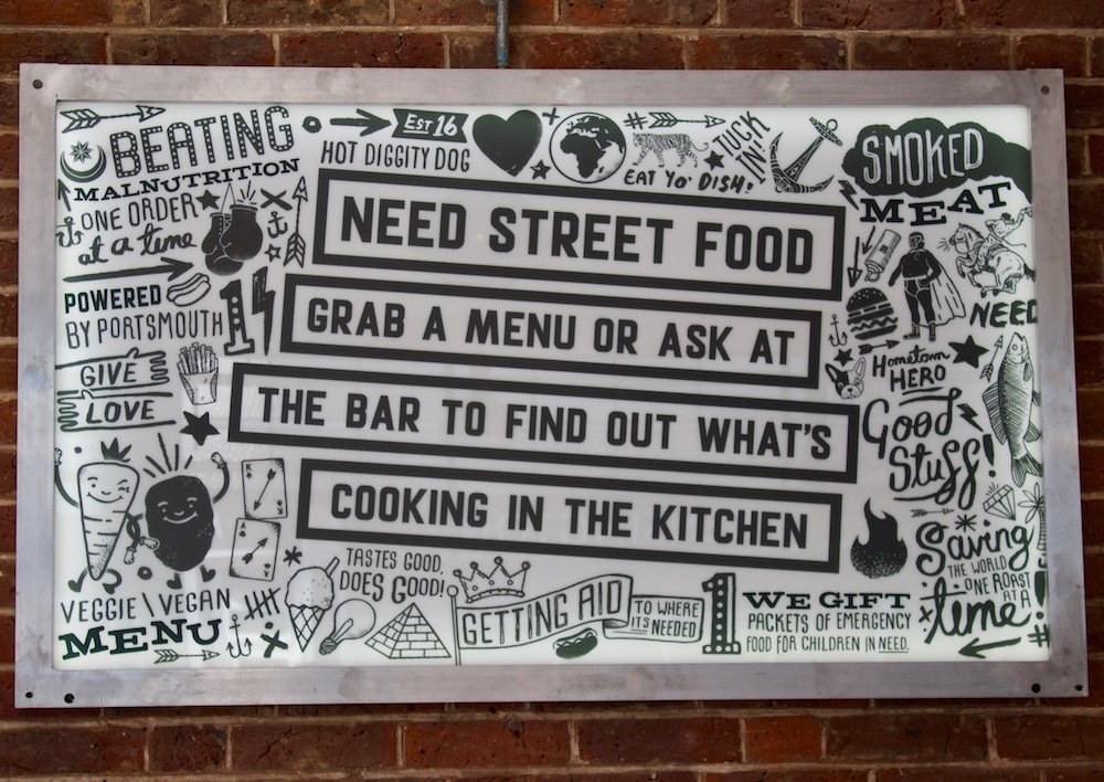 Need Street Food Sign Merchant House