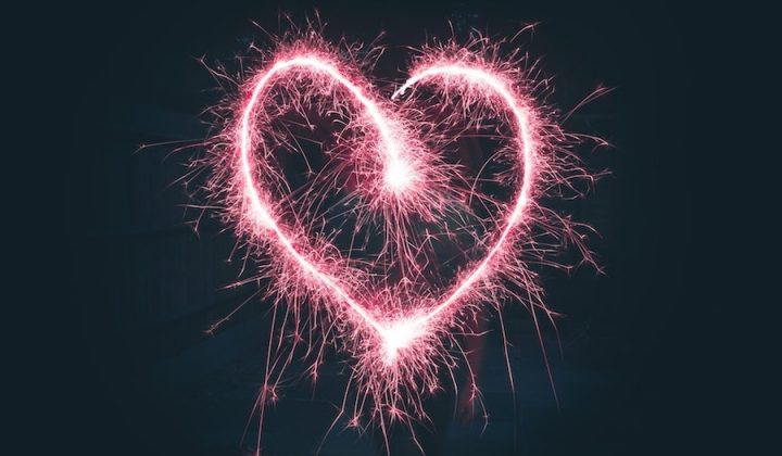 Firework night heart sparkler hampshire isle of wight displays bonfire night slide