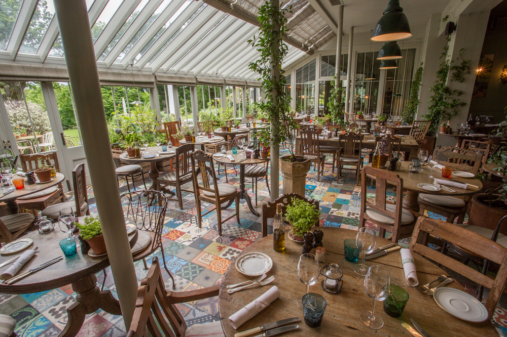 The Forest greenhouse restaurant pig hotel brockenhurst