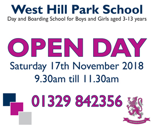 West Hill Park School November Open Day 2018