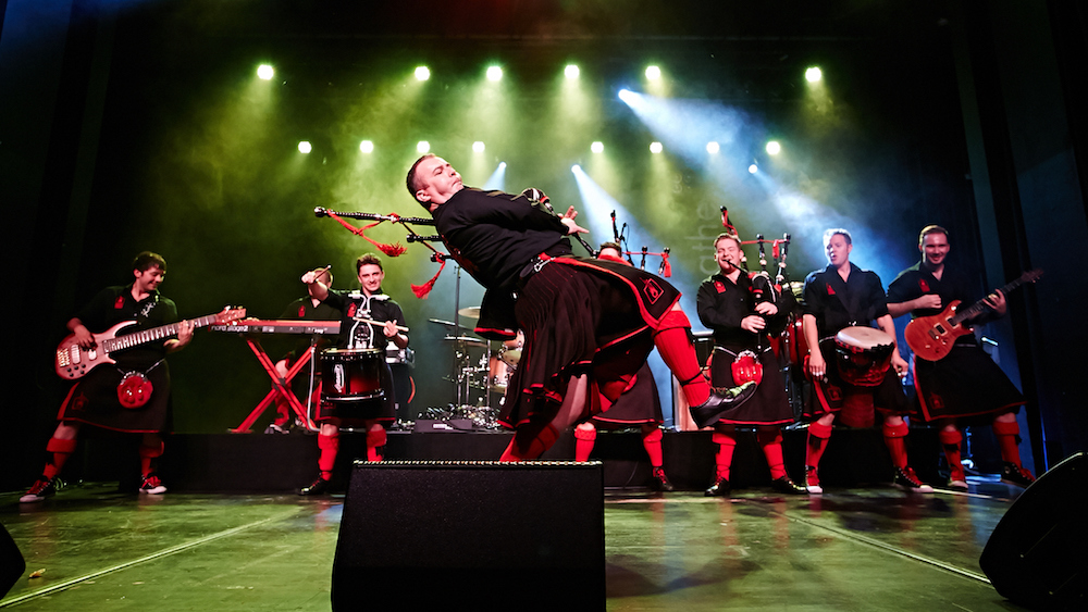 Red Hot Chilli Pipers Band Fleet