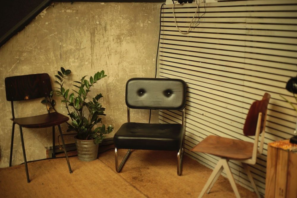 Retro furniture seats