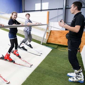 Instructor Ski Zone Basingstoke Controlled Environment Skiing