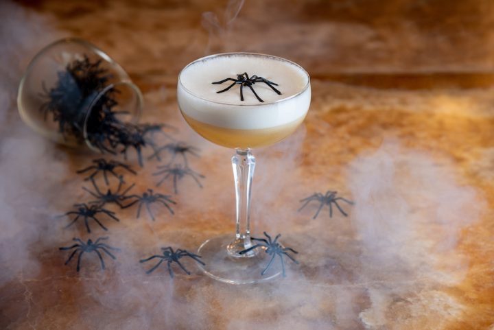 Halloween Spiced Apple Martini The Ivy Winchester