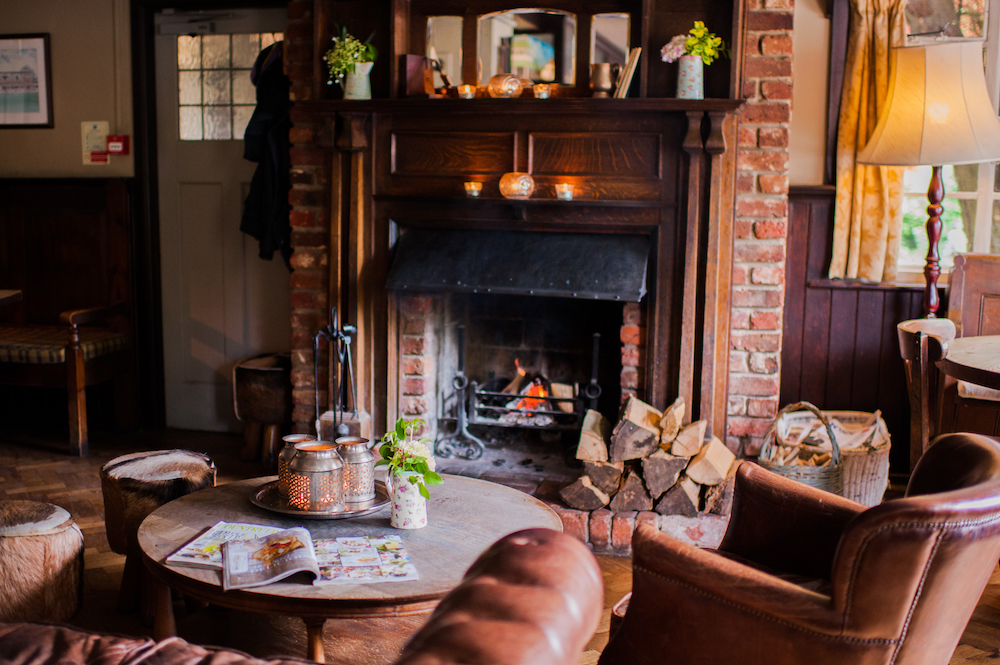 Thomas Lord West Meon Cosy Autumn Pub