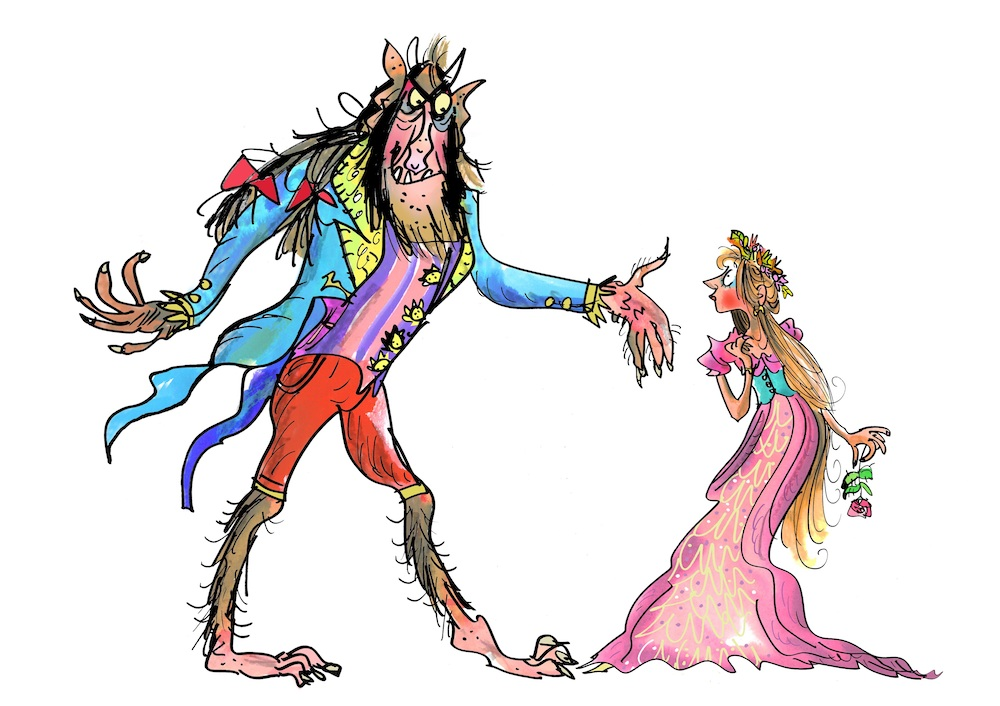 Beauty and the Beast illustration Credit Mark Beech