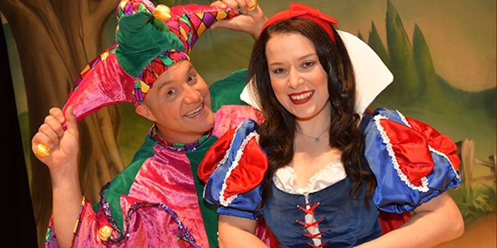 Dani Harmer Anvil Arts Snow White Panto