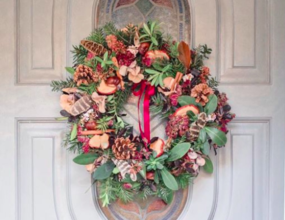 Elly and Hayley Wreath St Mary Bourne