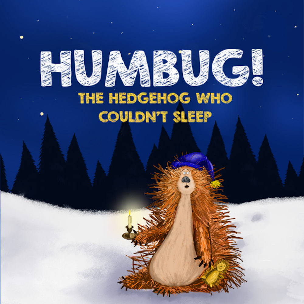 Humbug Hedgehog Christmas