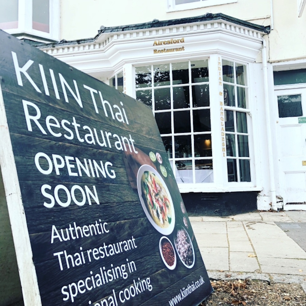 Khin Khao Thai Alresford New Restaurant