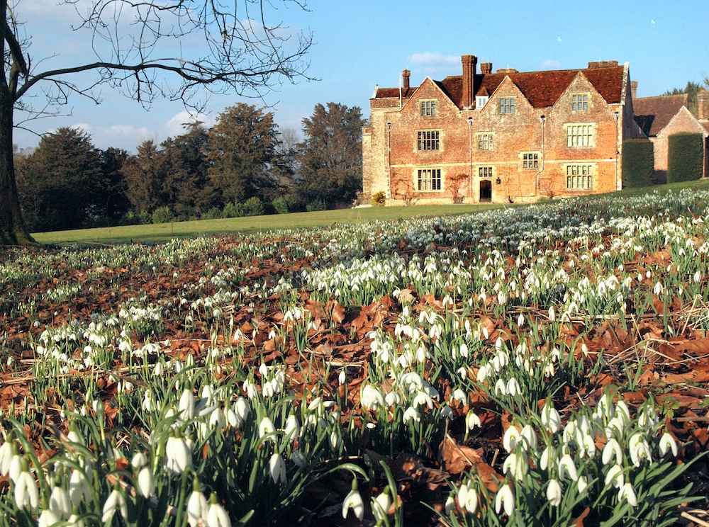Chawton House Winter