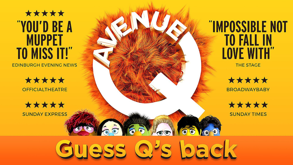 Avenue Q Kings Theatre
