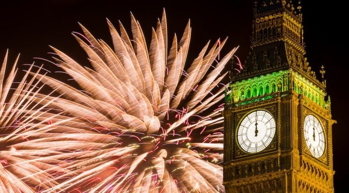 New Year big Ben slide