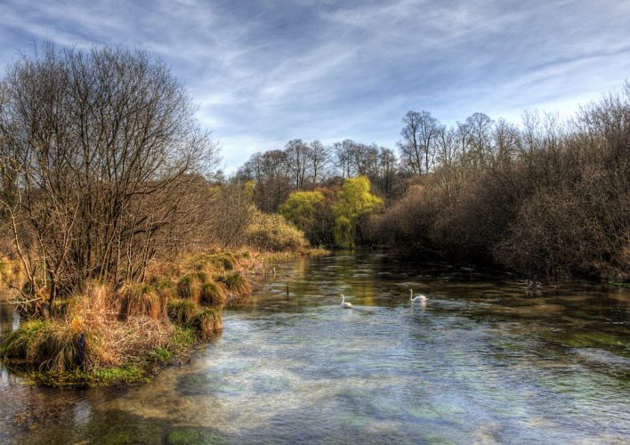 River Itchen Winchester