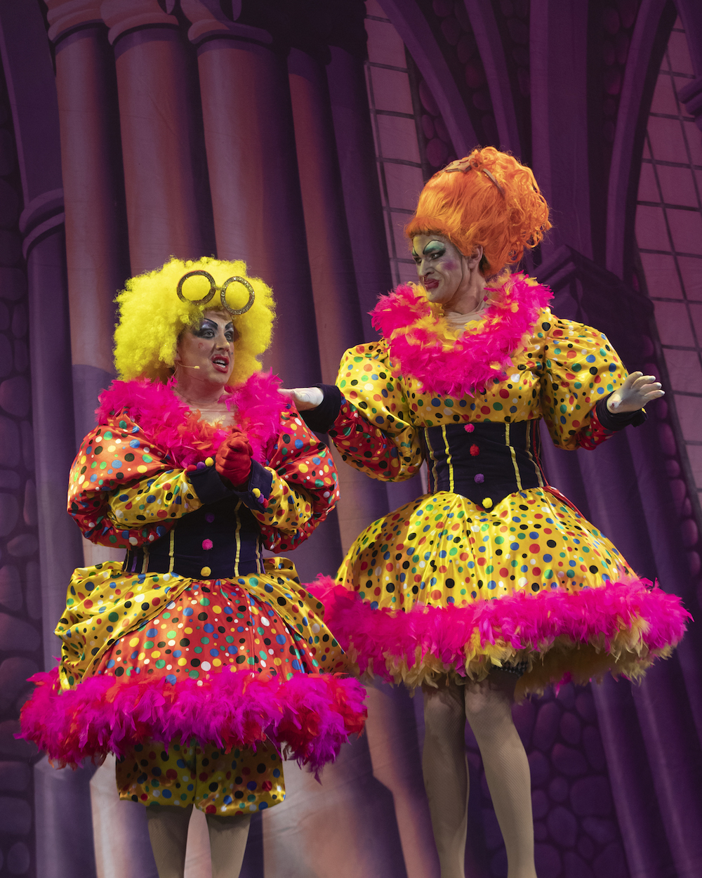 Paul Lawrence-Thomas Harry Howle Ugly Sisters Portsmouth panto