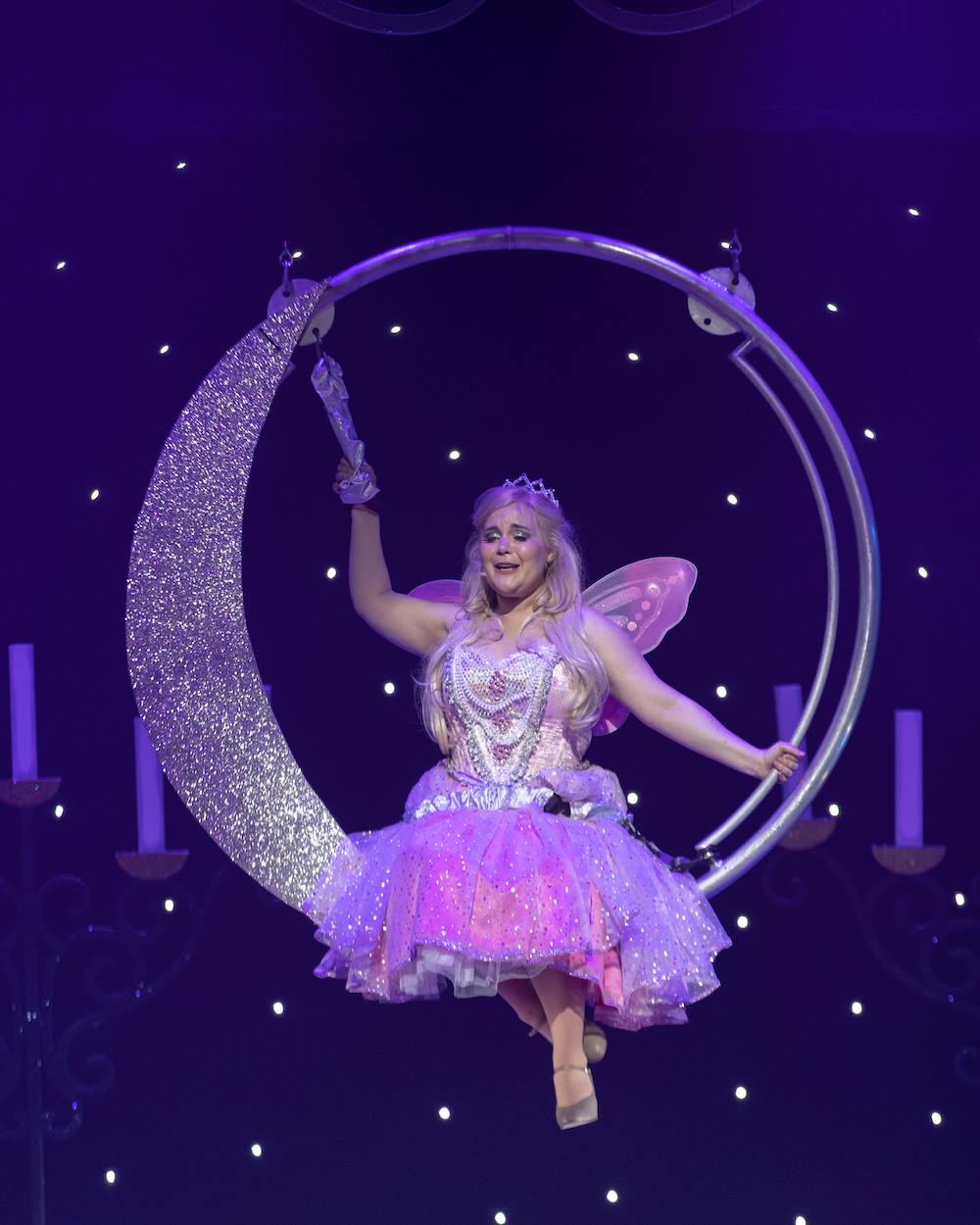 Natasha Barnes Fairy Godmother Kings Theatre Portsmouth Cinderella