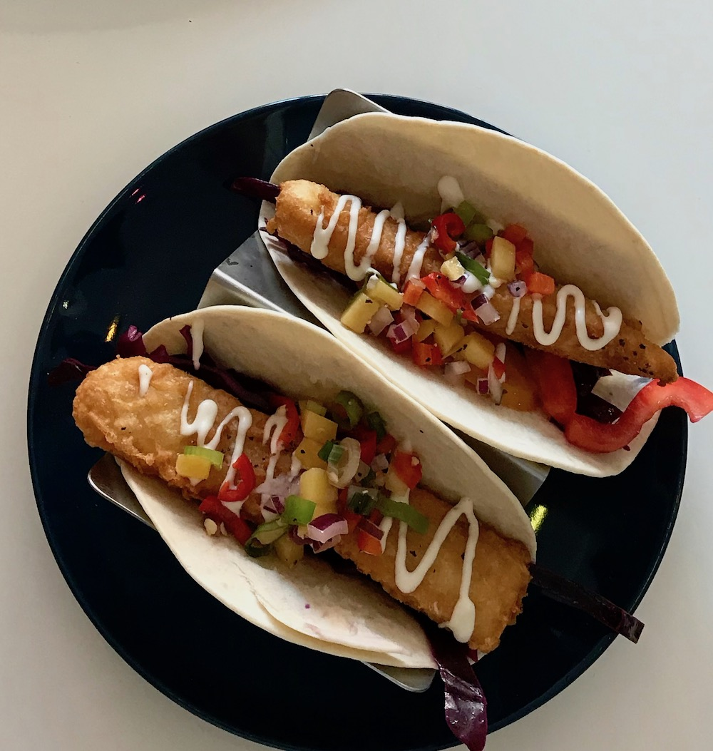 Two Doors Down Southsea Fish Tacos