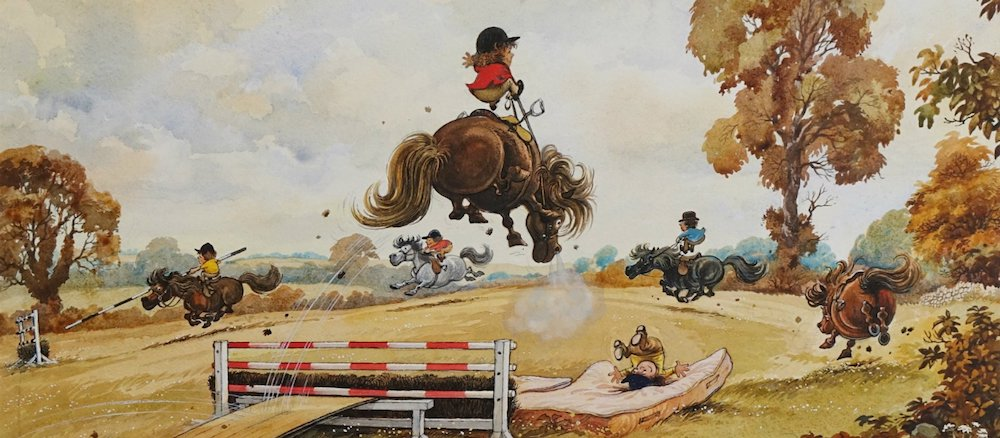 Thelwell exhibition