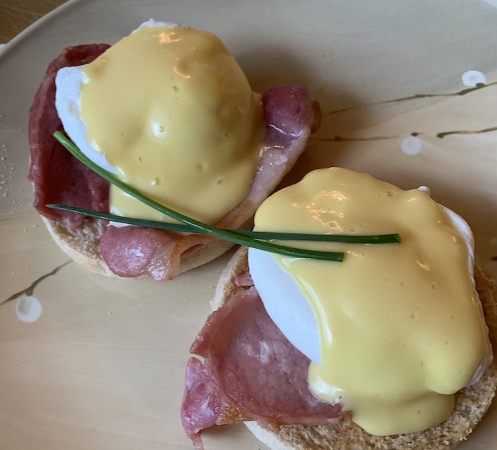 Enchanted Manor Eggs Benedict