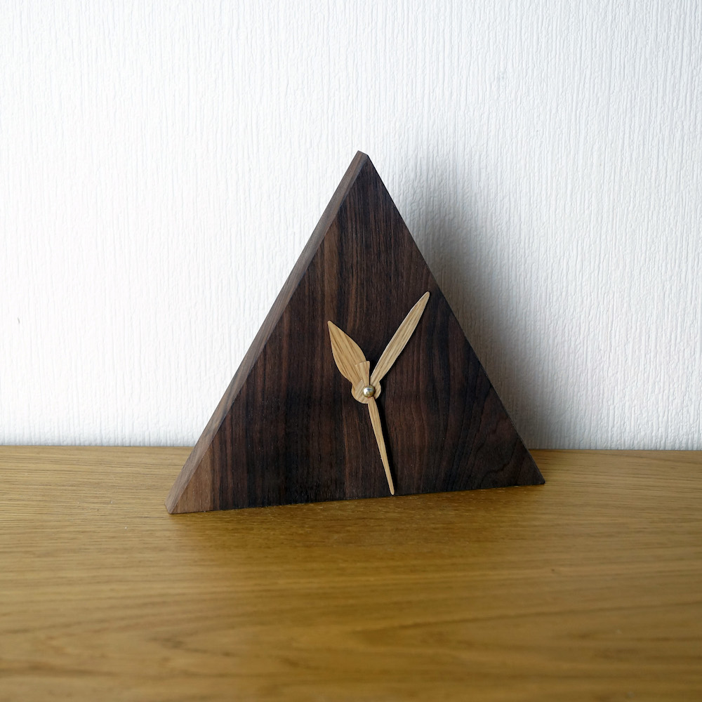 Liv Cornall triangle clock