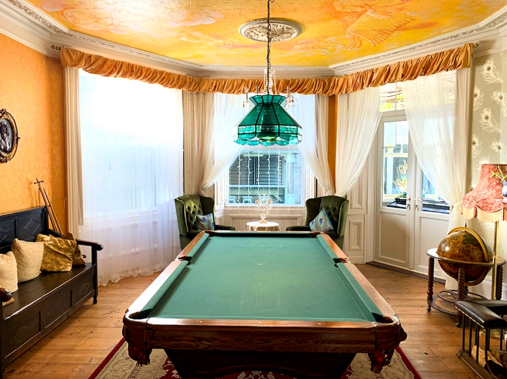 Victorian Billiards Room