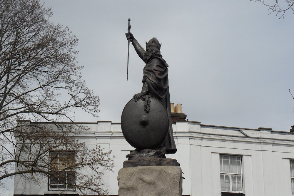 King Alfred's Statue Kevin Ryder