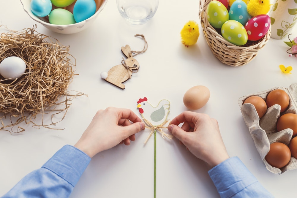 crafting easter
