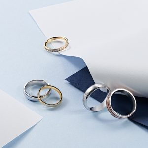 Charles Nobel wedding Bands