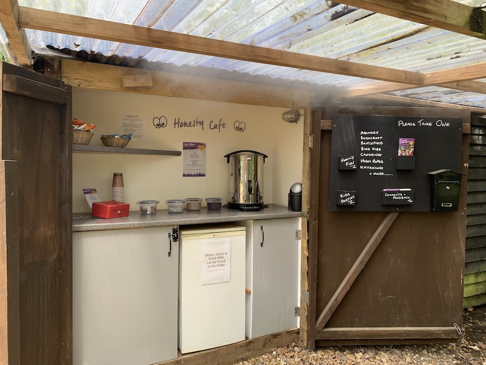 New Forest Activities Honesty Cafe