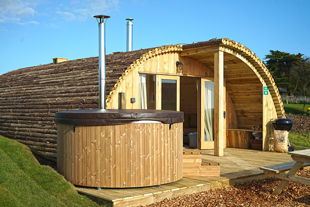 Tom's Eco Lodge Modulogs