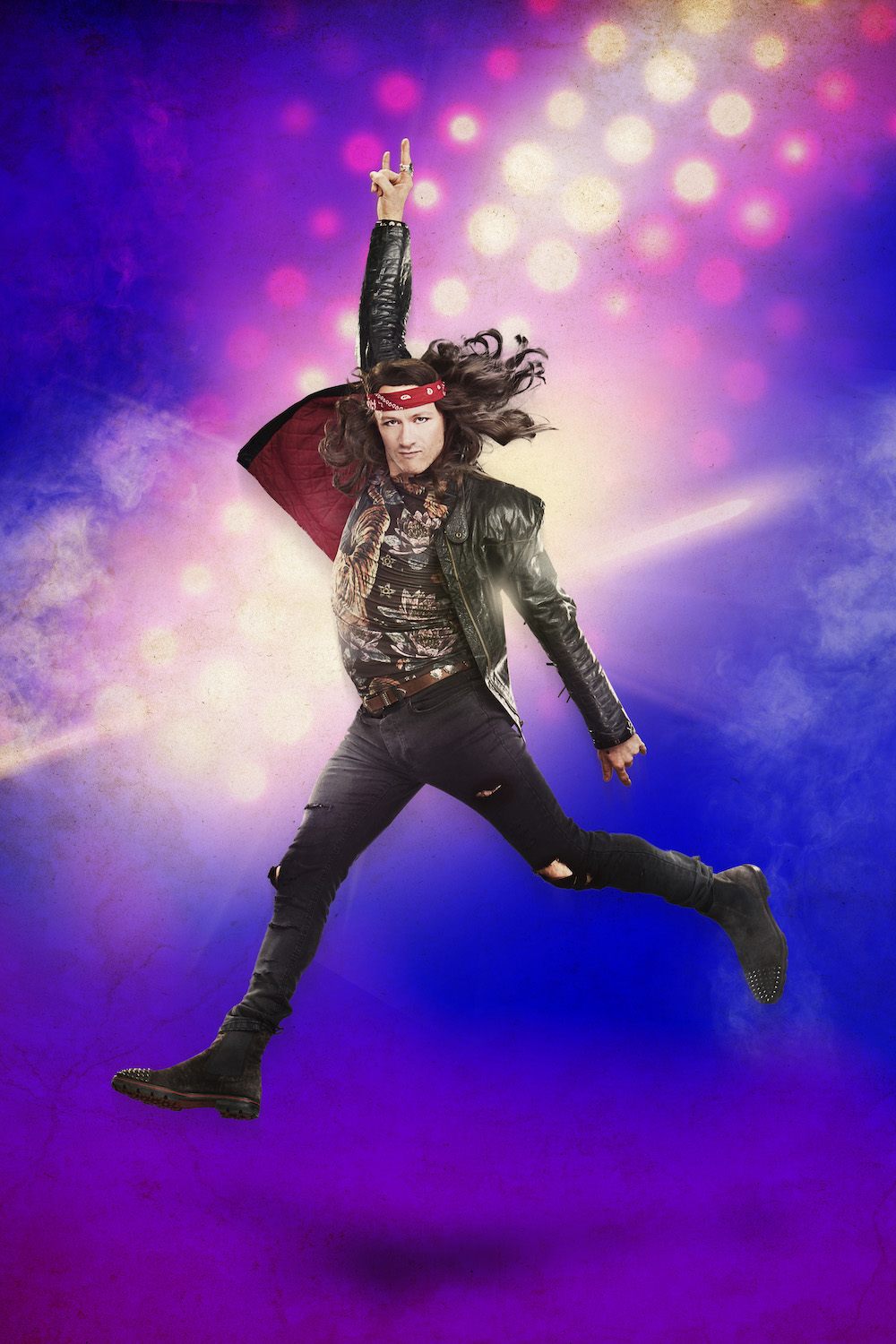 2. ROCK OF AGES. Kevin Clifton 'Stacee Jaxx'