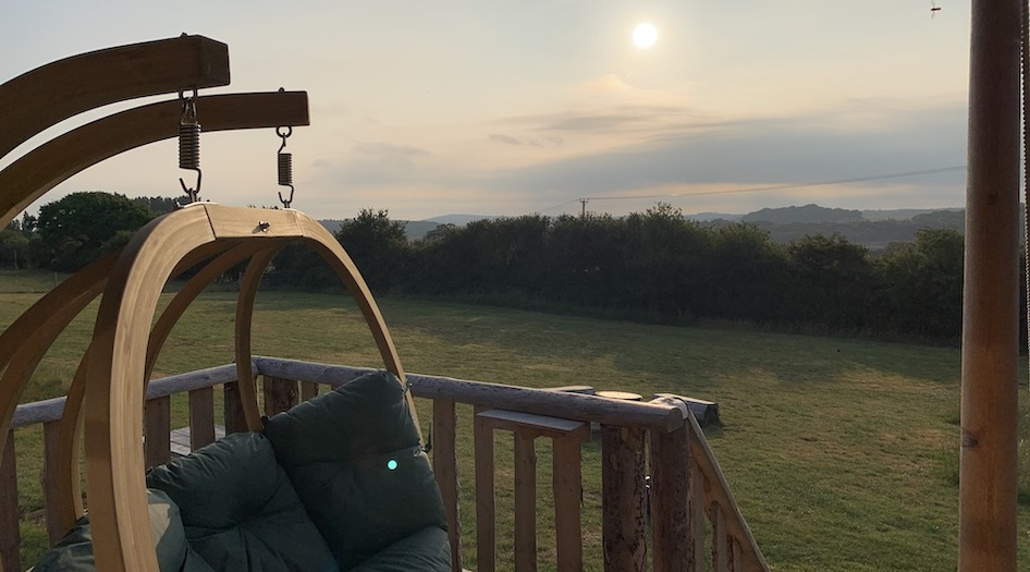 Glamping Wight Way Slide