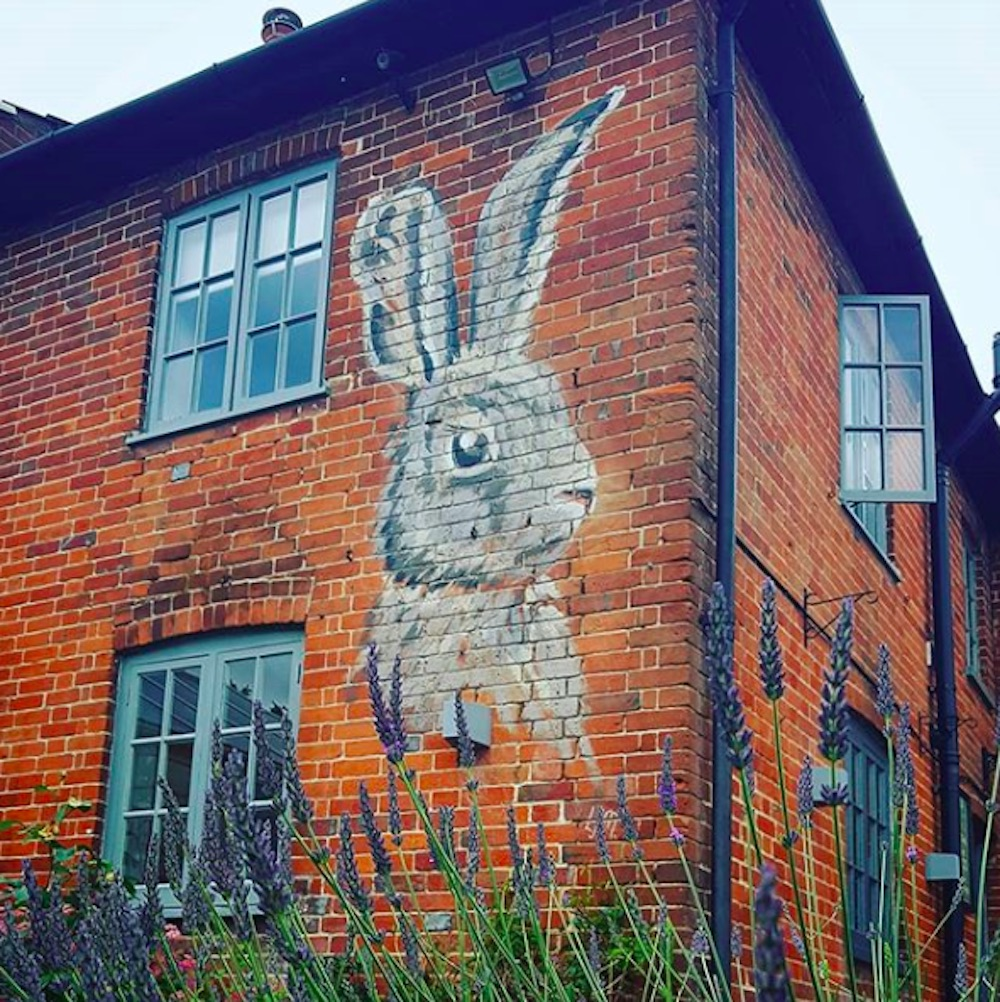 Watership Down Inn Mural