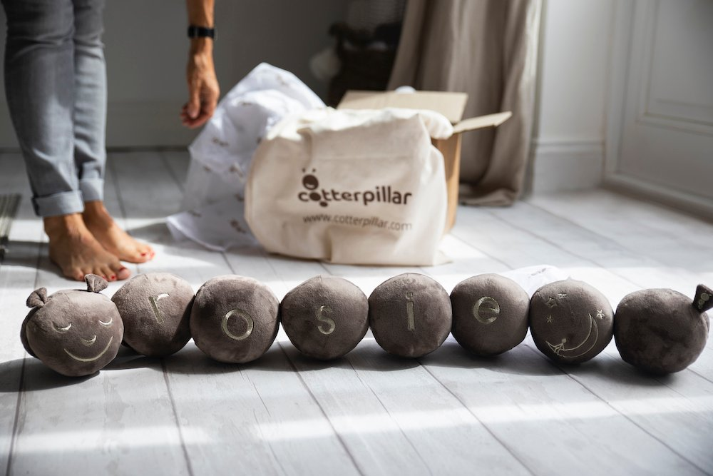 Cotterpillar with beautiful packaging