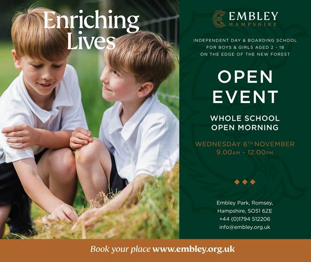 Embley Nov Open Day
