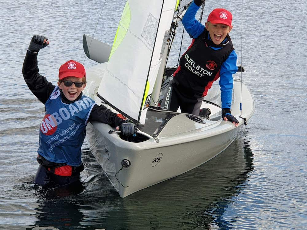 U11 Sailing Team won the National IAPS Competition, and the U11 and U13 crews won the Independent Schools Inland Sailing competitions so it would be good to try keep the sailing message going if we can.