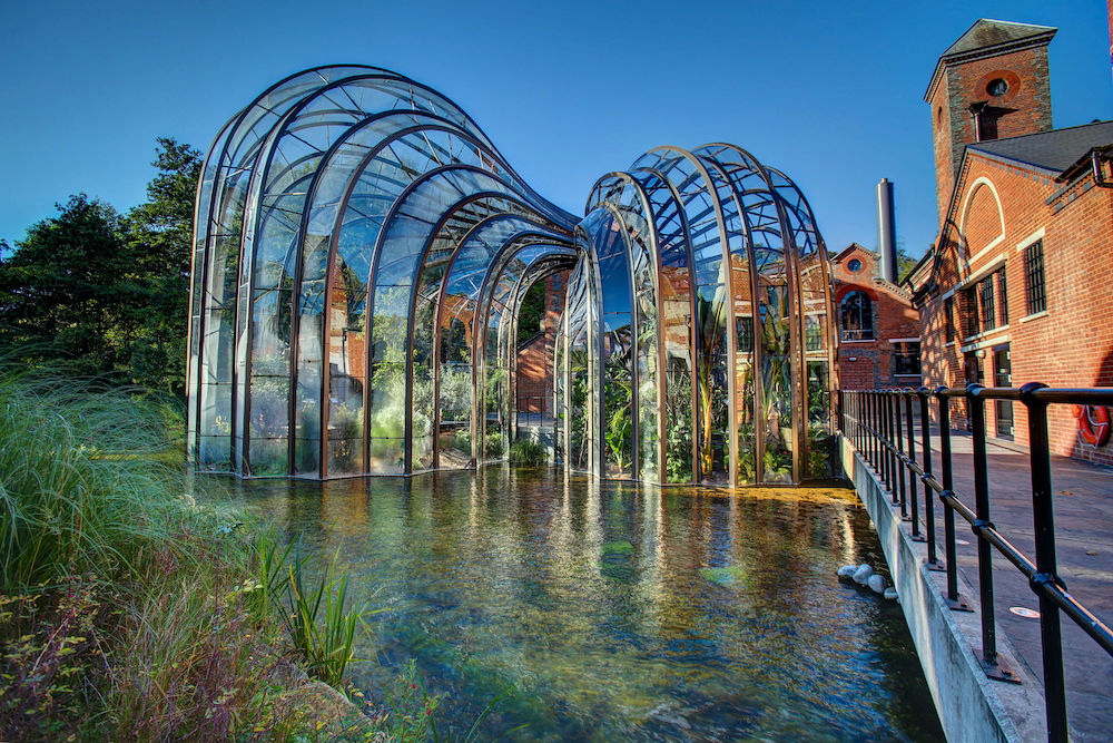 Bombay Sapphire iconic glass house