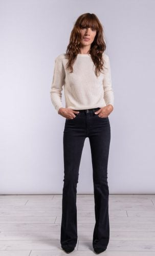 Hanna Jeans Denim Black Recall Sass and Edge