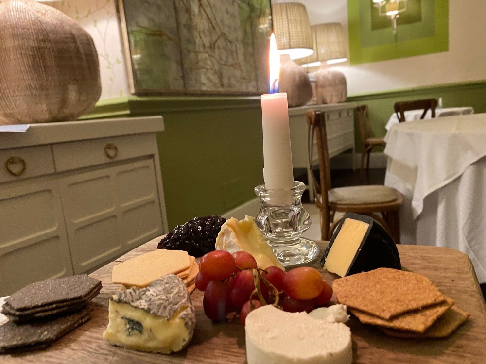 The Grosvenor Hotel Stockbridge Cheeseboard