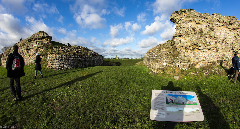 Silchester Roman Town CREDIT NEEDED