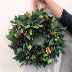 Belles in the Wood Hampshire Wreath making workshop