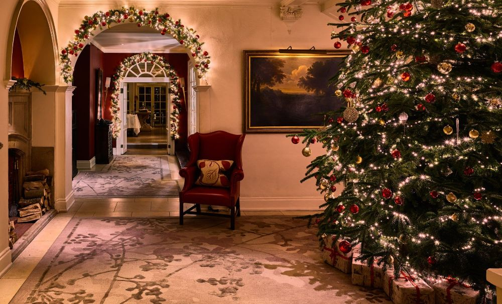 Chewton Glen Hampshire Christmas