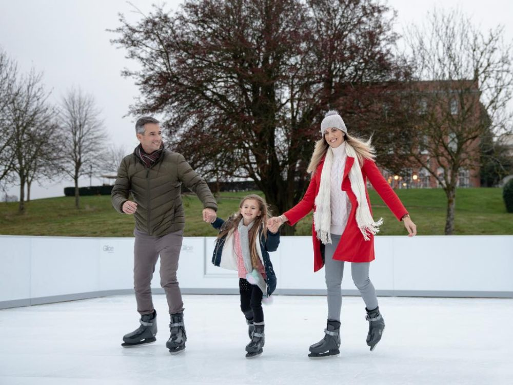 Four Seasons Hotel Hampshire Ice Skating
