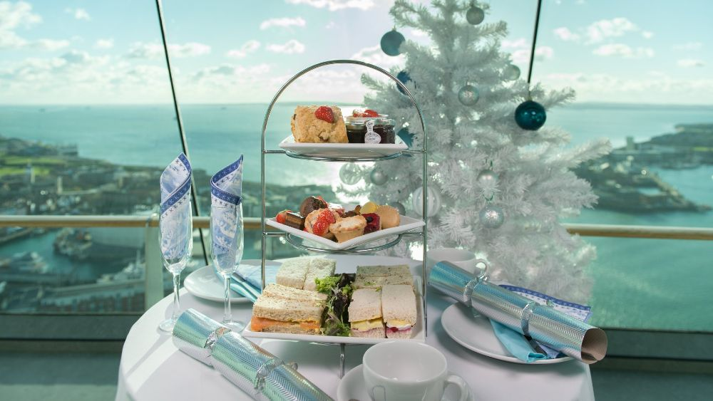 Spinnaker Tower Portsmouth Afternoon Tea Chritmas