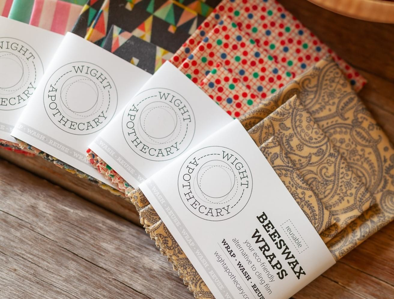 Wight Apothecary Beeswax wraps